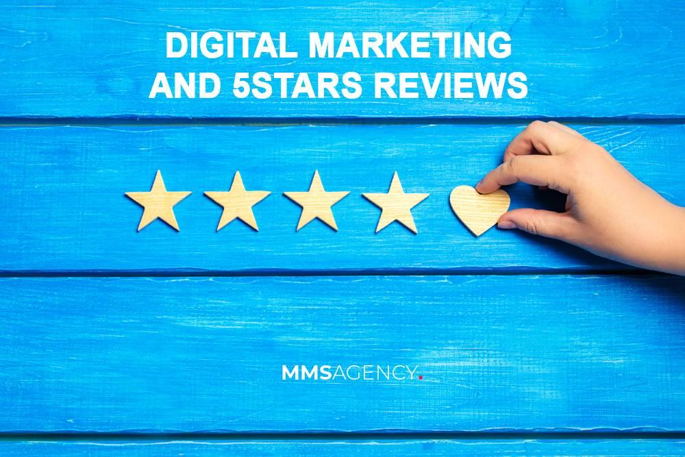 Digital Marketing and 5-Star Reviews!