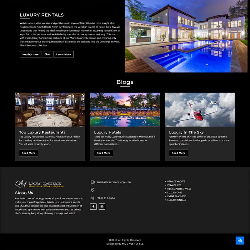 AA Luxury Concierge